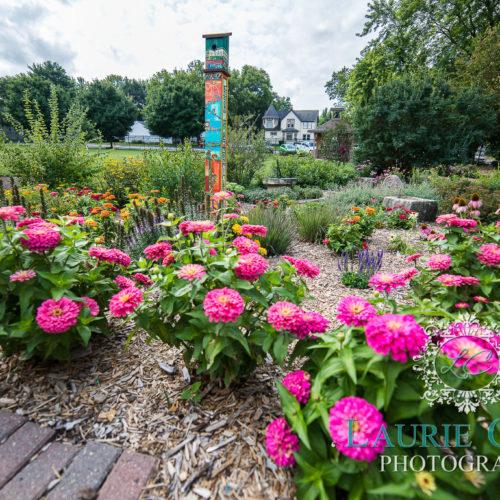 Garden at Central Gardens of North Iowa