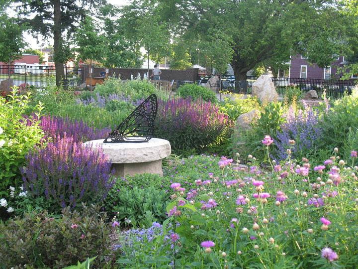 Butterfly Garden at Central Gardens of North Iowa
