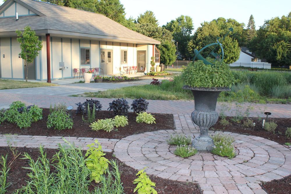 Herb Garden at Central Gardens of North Iowa