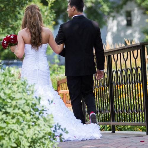 wedding at Central Gardens of North Iowa