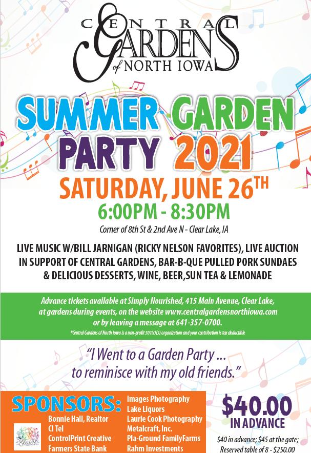 Annual Garden Party