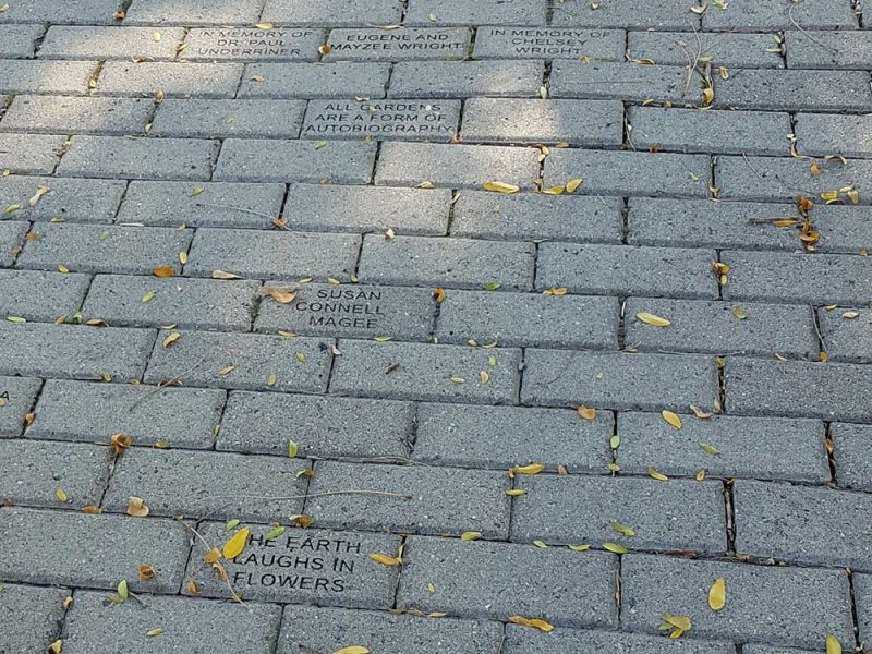 Bricks at Central Gardens of North Iowa